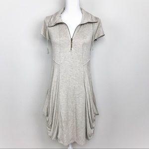 Kenzie | Drapery French Terry Dress